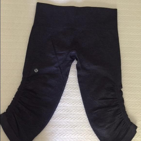 eab40d6a7c lululemon athletica Pants | Lululemon Knee Length Leggings | Poshmark